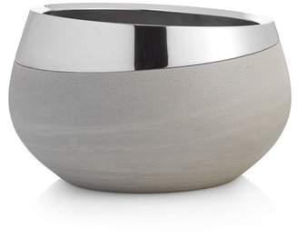 Nambe Grey/Silver Forte Medium Bowl