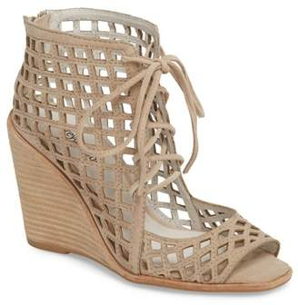 Jeffrey Campbell Cuadro-Hi Wedge Sandal (Women)