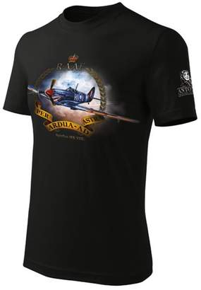 Spitfire Antonio - Original for Pilots T-Shirt with fighter Mk VIII. (M)