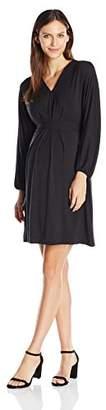 Ingrid & Isabel Women's Maternity Long Sleeve Dolman Dress