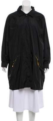 Sonia Rykiel Oversize Hooded Coat