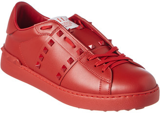 Valentino Studded Leather Sneaker