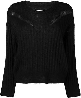 IRO ribbed distressed sweater
