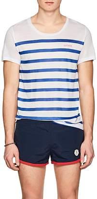 KATAMA Men's Ross Striped Tissue-Weight T-Shirt