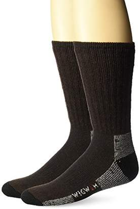 Wigwam Men's Mighty Midweight Work Socks 2-Pack