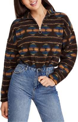 BDG Urban Outfitters Southwestern Fleece Jacket
