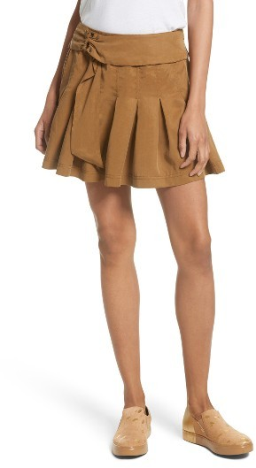 Women's Free People Lost In The Light Miniskirt