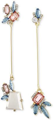Rachel Roy Gold-Tone Mismatched Stick Drop Earrings