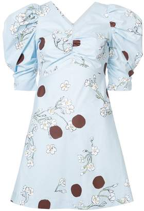 Isa Arfen floral and polka dot print dress