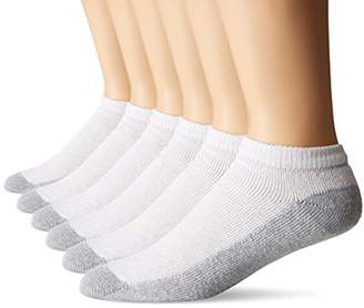 Fruit of the Loom Men's 6 Pack Cushion Low Cut Socks