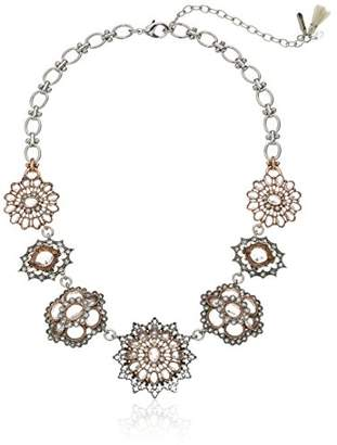 lonna & lilly Silver Tone Flower Necklace