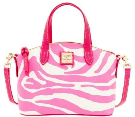 Dooney & Bourke Zebra Brights Ruby Top Handle Bag - WHITE PINK - STYLE