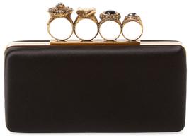 Alexander McQueenSilk Knuckle Box Clutch