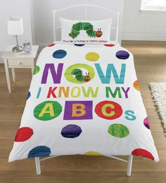 The Very Hungry Caterpillar ABC Bedding Set