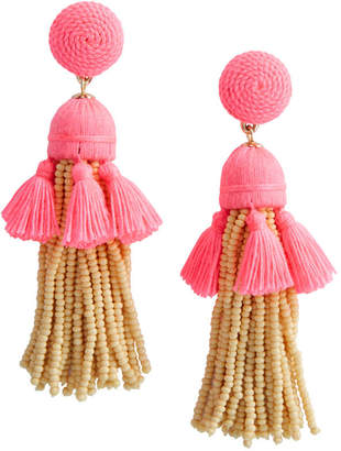 Vineyard Vines Layered Tassel Earrings