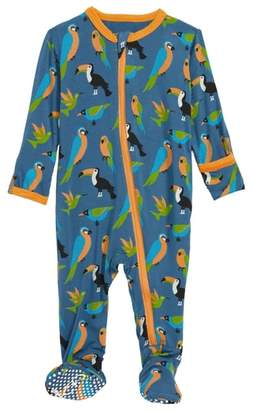 Kickee Pants Tropical Footie