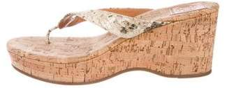 Tory Burch Wedge Slide Sandals