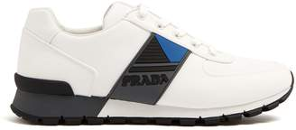 Prada Contrast-panel low-top trainers