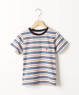 Coen (コーエン) - coen 【coen キッズ / ジュニア】リサイクルコットンボーダーTシャツ(100~150cm)