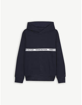 Tommy Hilfiger Logo cotton hoody 4-16 years