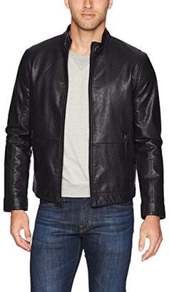 Dockers The Dylan Faux Leather Racer Jacket
