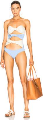 Lisa Marie Fernandez Triple Poppy Swimsuit