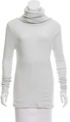 V::room Textured Cowl Neck Top