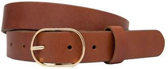 Skinny Circle Polished Belt