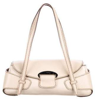Tod's Leather Shoulder Bag Beige Leather Shoulder Bag