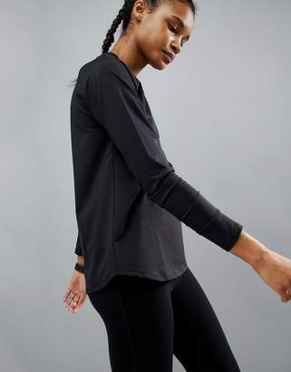 Asos 4505 Training Long Sleeve Top In Loose Fit