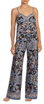 In Bloom Julia Two-Piece Printed Camisole & Pants Set
