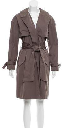 Charles Nolan Knee-Length Trench Coat