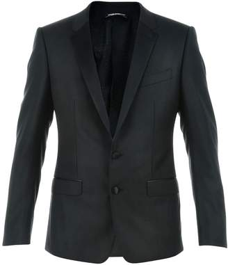 Dolce & Gabbana Dolce & Gabbna Two-piece Suit With Satin Revers