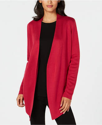 Eileen Fisher Tencel Angle-Front Cardigan