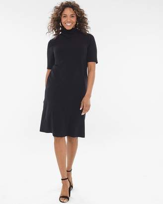 Travelers Collection Scrunch-Neck Dress