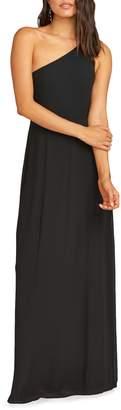Show Me Your Mumu Eliza One-Shoulder Gown