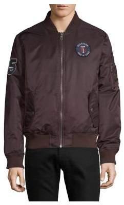 Tommy Hilfiger Varsity Logo Bomber Jacket