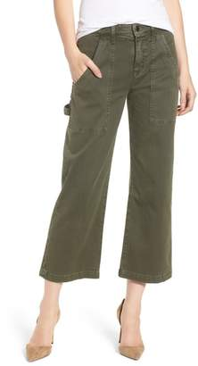 Hudson Crop Straight Leg Cargo Pants