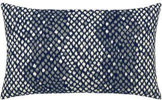 Elaine Smith Python Lumbar Sunbrella Pillow