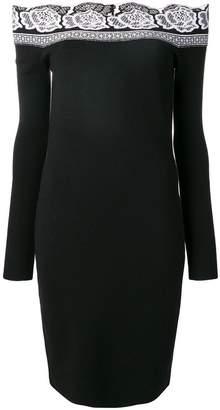 D-Exterior D.Exterior off-the-shoulder dress