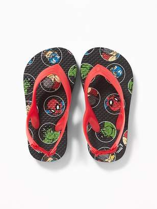 Old Navy Marvel Comics Avengers Flip-Flops for Toddler Boys