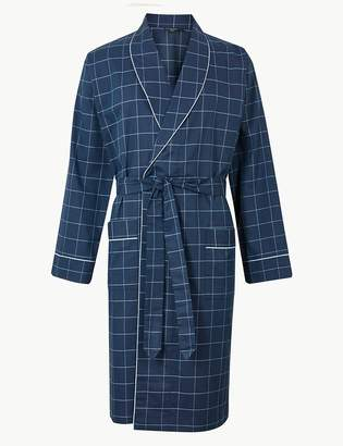 Marks and Spencer Supima Cotton Lightweight Dressing Gown