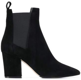 Sergio Rossi chunky heel ankle boots