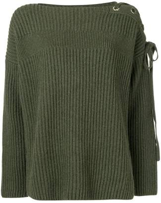 Stella McCartney oversized ribbed knit sweater