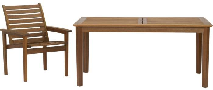 Mendocino 5-Piece Table/Chairs Set