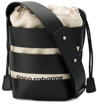 Paco Rabanne strappy bucket bag