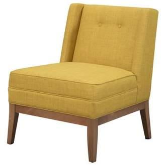 Devon & Claire Hansen Mid Century Yellow Accent Chair