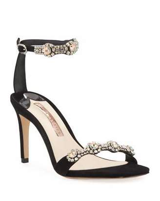 Sophia Webster Aaliyah Embellished Ankle-Strap Sandals