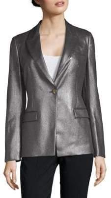 Versace Metallic Suit Jacket