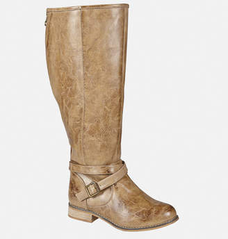 Avenue Haven Back Zip Belted Tall Boot